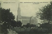 Etablissement de Saint-Ian, près St-Brieuc. La Chapelle |