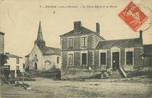 La Vieille Eglise et la Mairie |