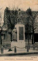 Monument Aux Morts (vu de 3/4) | Havas