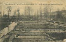 Etablissement de Pisciculture de BOUAFLEs, par VIEUX-ROUEN-sur-BESLES (Seine-Inf.)  