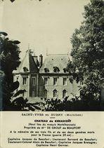 Saint-Yves en Bubry. Château de Kerascoët |