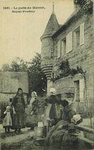 Le puits du Manoir, Noyal-Pontivy  
