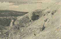 LA POMPELLE - Un coin du Fort et la ligne Hindenburg |