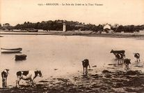 La Baie du Grésit et la Tour Vincent  