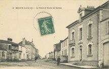 La Place et Route de Nantes |
