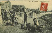Iles Chausey - Village des Blainvillais |