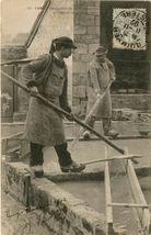 Fabrication de la Faïence bretonne