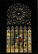 Vitrail de l'Eglise Notre-Dame du Folgoët |