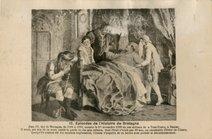 Jean IV, duc de Bretagne, de 1364 à 1399, mourut le 1er novembre 1399 en son château de la Tour-Neuve, à Nantes. Il avait, sur son lit de mort, confié la garde de ses sept enfants, dont l'aîné n'avait |