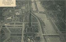 Panorama de la Tour Eiffel pris en ballon | Hauser J.