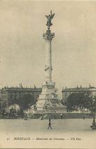 Monument des Girondins | Neurdein