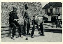 Joueurs de boules à Erdeven (Morbihan) | Lefeuvre Claude