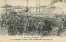 Prisonniers allemands employés aux travaux du Nouvel Abattoir |