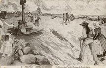 Le Chemin du Pardon, fresque de Louis Garin | Garin Louis