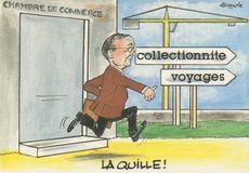 LA QUILLE ! collectionnite voyages | Alexandre