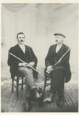 Jean-Marie Le Pennec de Lanrivain et Guillerm Thomas de Peumeurit-Quintin. |