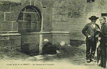 Pardon de N.-D. du PENITY - La Fontaine de la Chapelle  