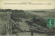 Montalivet-sur-Mer (Médoc) - Vue générale des dunes et de la plage | Guillier Henry Veuve