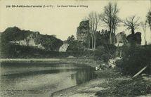 Le vieux château et l'étang |