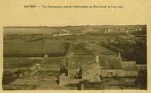 Vue panoramique prise de l'observatoire sur Ban- Gâvres et Port-Louis | Combier