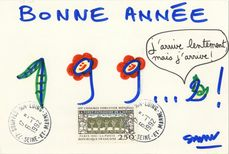BONNE ANNEE 199....2 | Savon