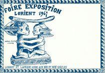 Foire Exposition - Lorient 1967 |