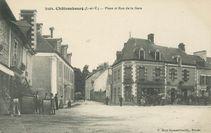 Place et Rue de la Gare  
