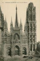 Cathédrale de ROUEN et la Tour de Beurre | Neurdein