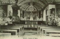 Intérieur de l'Eglise | Crolard