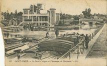 Le Canal d'Arques et l'Ascenseur de Fontinette  