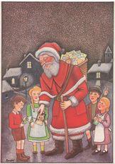 Le père Noël Cartophile | Roussey A.