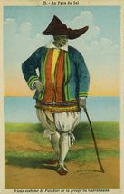Vieux Costume de Paludier de la presqu'île Guérandaise |