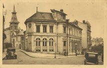 L'Hôtel des Postes et le Temple protestant |