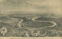 Vue générale de Besançon, d'après une aquarelle exécutée en 1910 par M. Boutterin, architecte | Leroux Ch.