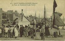 La vente du poisson sur le quai Vauban |