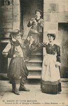 Costumes de fête de Quimper et Bannalec  