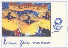 La Poste souhaite une bonne fête à toutes les mamans |
