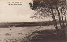 Le Trez-Hir. Un coin de la plage |