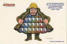 CLUB INTERNATIONAL DE LA CARTE POSTALE CONTEMPORAINE CENTRE CULTUREL 81000 ALBI |
