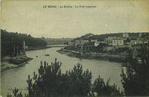La Rivière Le Pont suspendu |