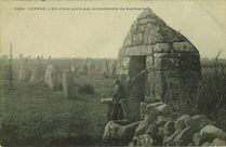 Un vieux puits aux alignements de Kermario |