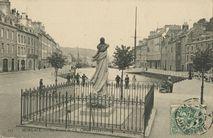 La Statue de Ch. Cornie (1731-1809) |