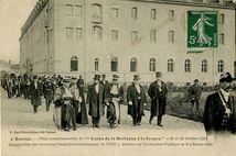 Inauguration des nouveaux Palais Universitaires par M. STEEG, ministre de l'Instruction Publique et des Beaux-Arts  