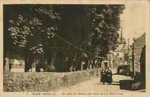 Un coin du Champ de Foire et rue Saint-Yves  