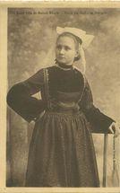 Jeune fille de Saint-Thois |
