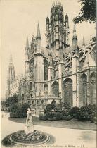 Saint-Ouen et la la Statue de Rollon |