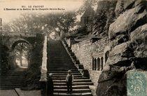 L'Escalier et le Beffroi de la Chapelle Sainte-Barbe |