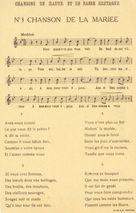 Chanson de la Mariée | S.i.m.a.g Asnières