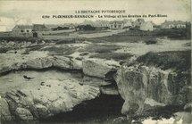 Le Village et les Grottes du Port-Blanc  