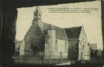 Chapelle St Laurent du-Bot, en SILFIAC, construite en partie au début du XVIè siècle par un seigneur de Crénihuel, sur l'emplacement d'un ancien sanctuaire dédié à Saint-Nodez |